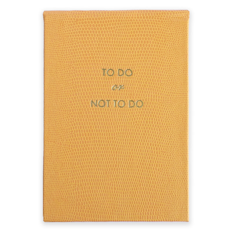 REFILLABLE NOTEPAD NO°100 - To Do or Not to Do