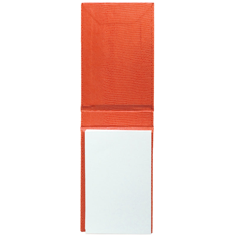 REFILLABLE NOTEPAD - ORANGE