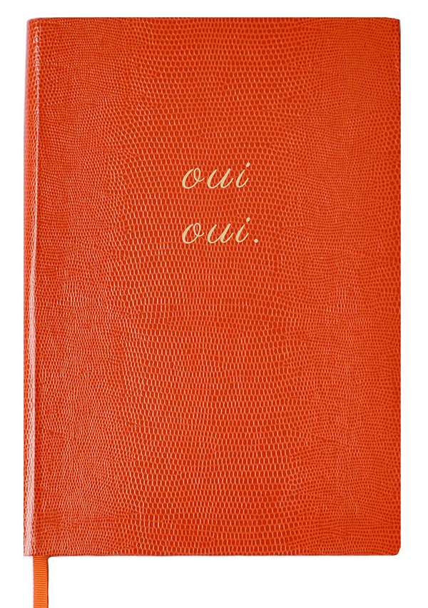 NOTEBOOK NO°107 - OUI, OUI