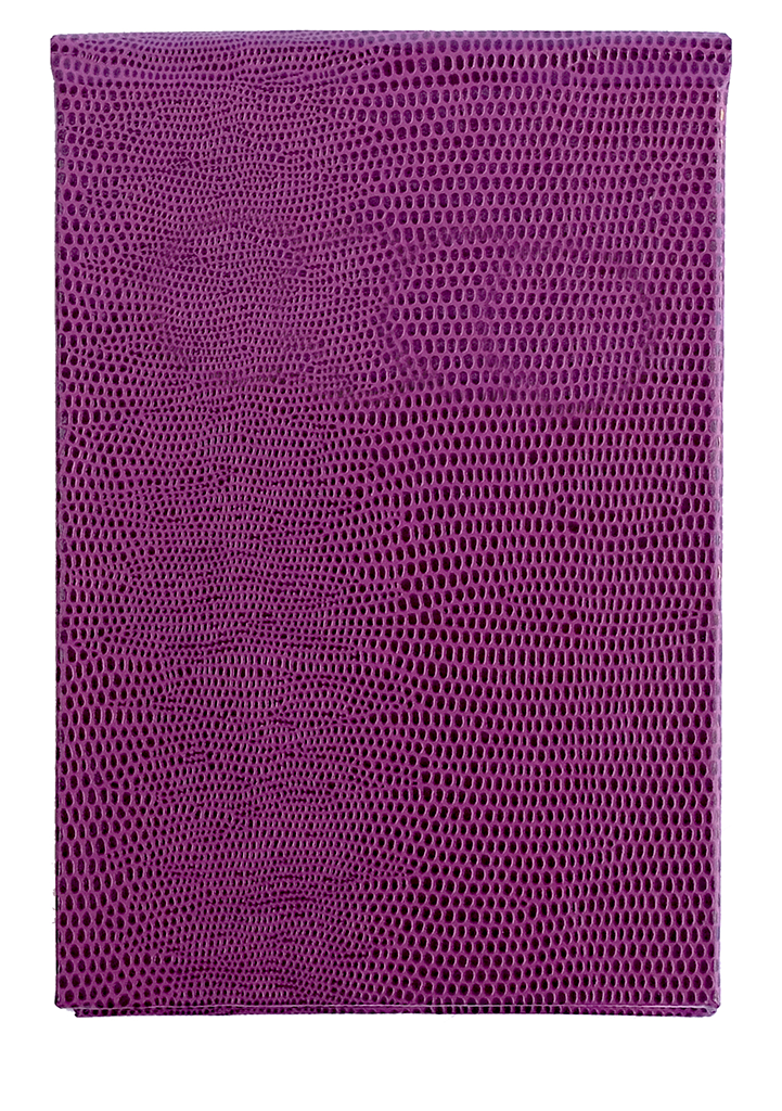 REFILLABLE NOTEPAD - PLUM