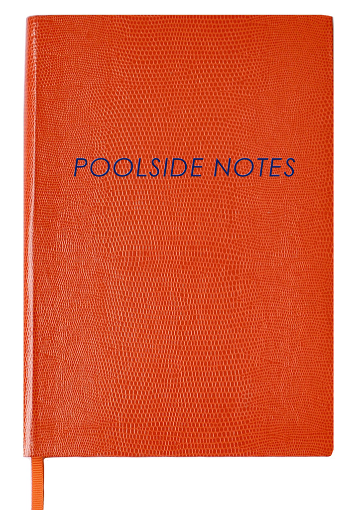 NOTEBOOK NO°58 - POOLSIDE NOTES