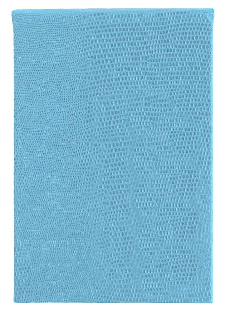 REFILLABLE NOTEPAD - POWDER BLUE