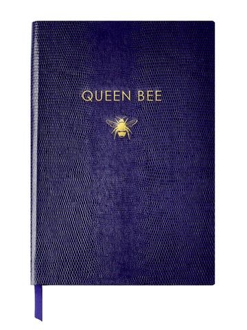 QUEEN BEE - A5 NOTEBOOK - purple