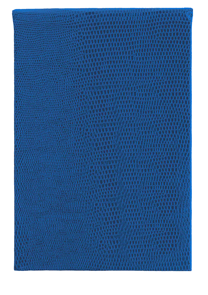 REFILLABLE NOTEPAD - ROYAL BLUE