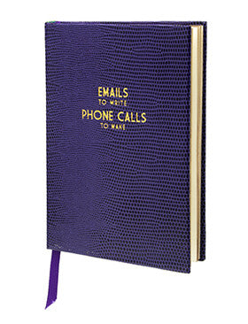 EMAILS AND PHONE CALLS - POCKET NOTEBOOK