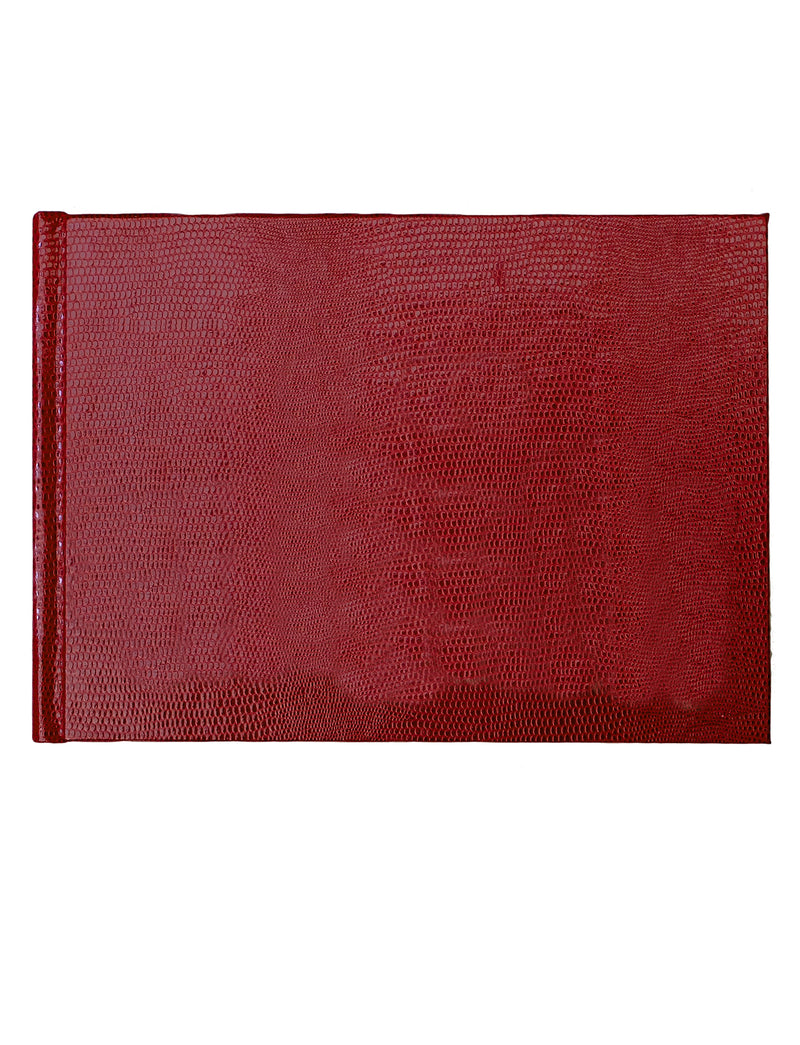 GUEST BOOK - RED