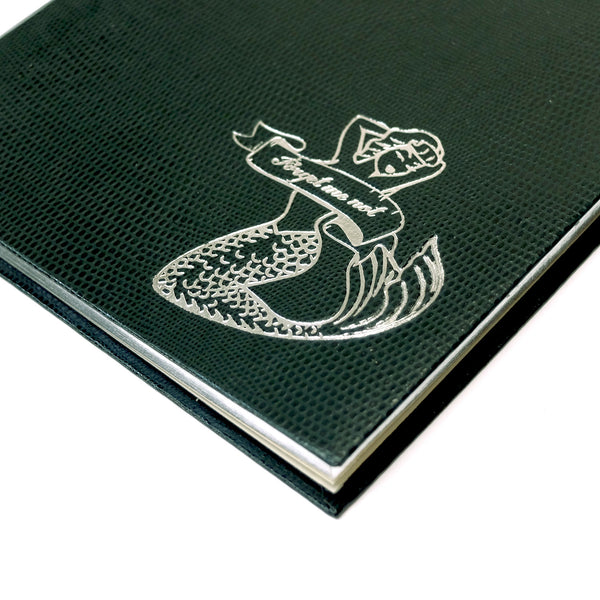 Tattoo Notebook - Mermaid / Forget Me Not