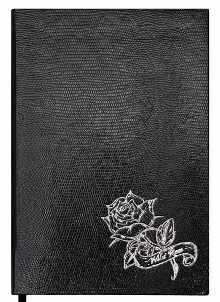 Tattoo Notebook - Wild Rose