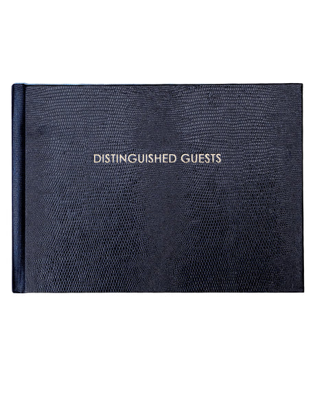 Distinguished Guest - Guest Book