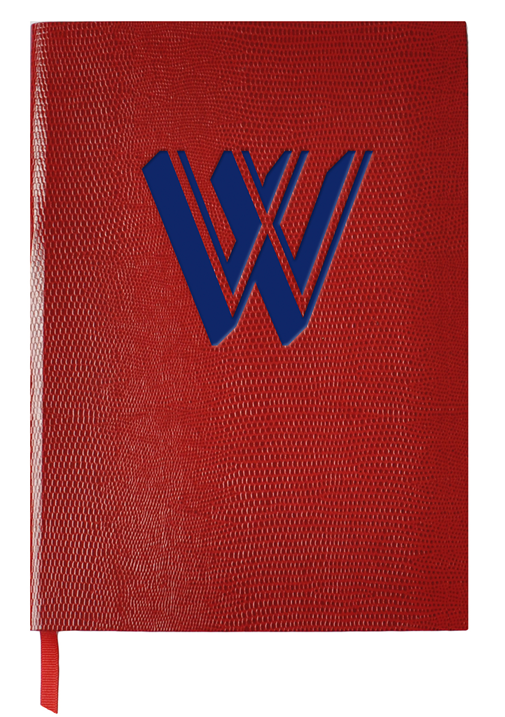 ALPHABET NOTEBOOK - W