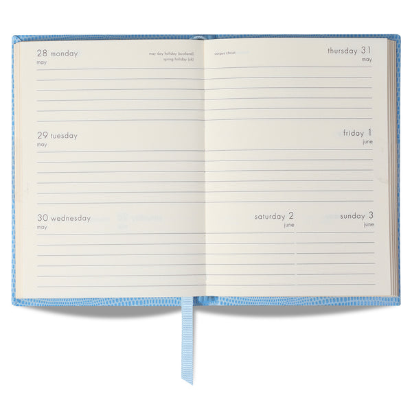 2020 LIGHT BLUE CRAB DIARY - POCKET