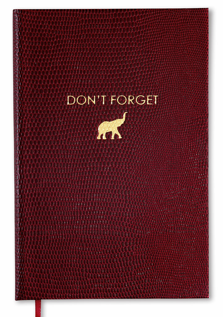 POCKET NOTEBOOK NO°34 - DON'T FORGET