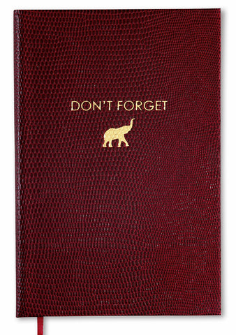 DON'T FORGET - POCKET NOTEBOOK