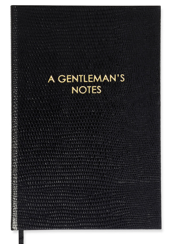 NOTEBOOK NO°49 - A GENTLEMAN'S NOTES