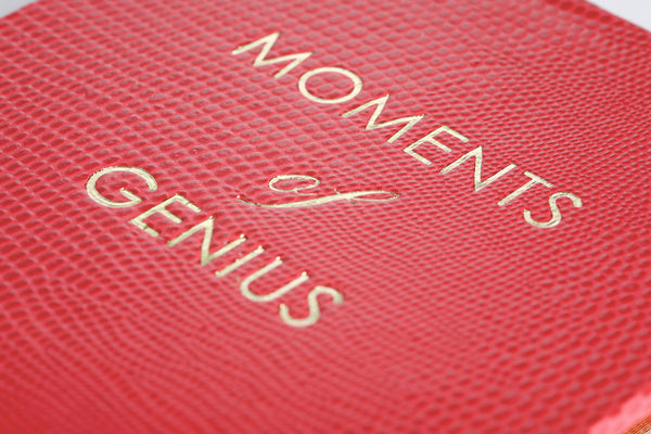 Moments of Genius Notepad - Cherry