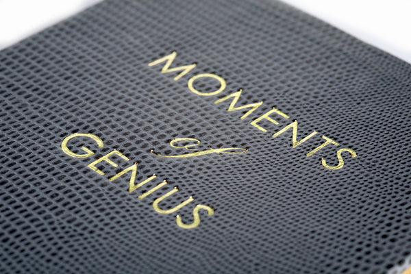 Moments of Genius Notepad - Grey