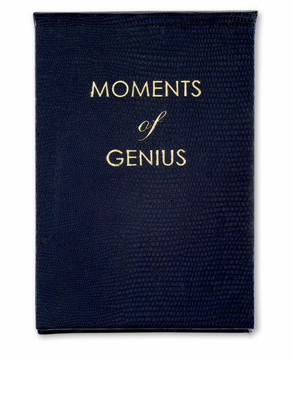Moments of Genius Notepad - Navy