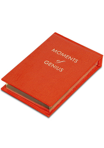 Moments of Genius Notepad - Orange