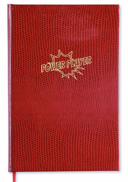 POWER PLAYER - POCKET NOTEBOOK