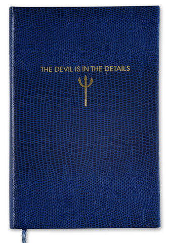 THE DEVIL IN THE DETAILS - POCKET NOTEBOOK