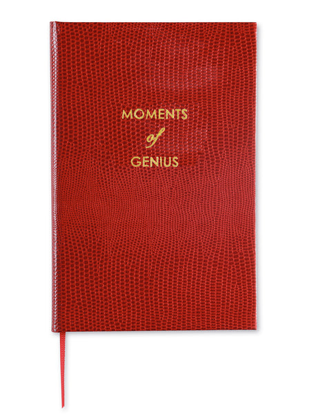MOMENTS OF GENIUS - POCKET NOTEBOOK