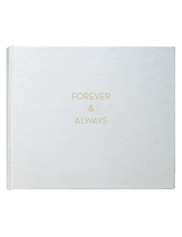 Forever and Always Wedding Album