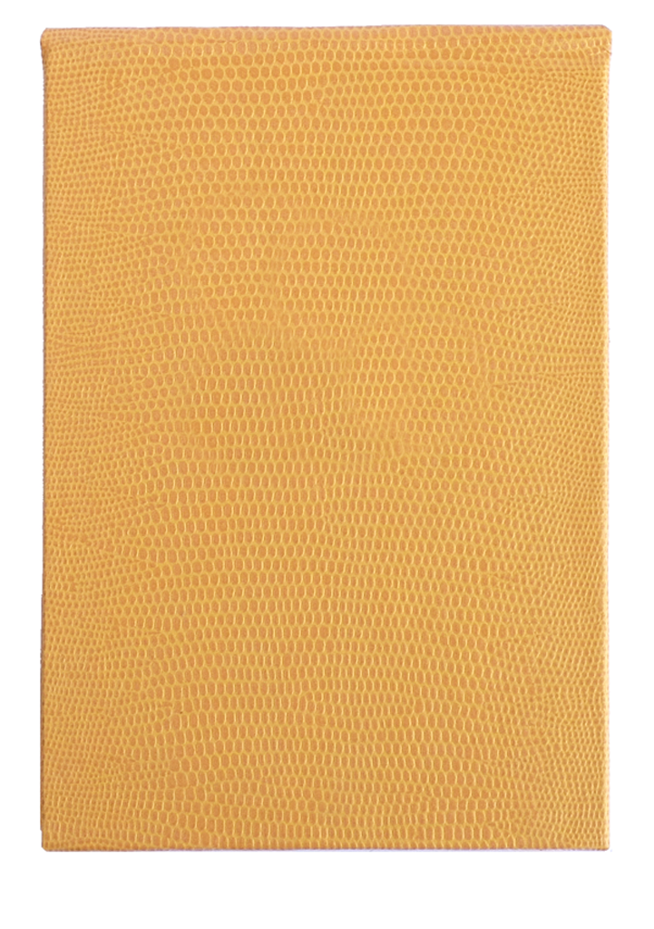 REFILLABLE NOTEPAD - YELLOW