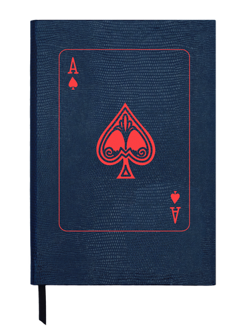 Ace it! Small Navy Notebook