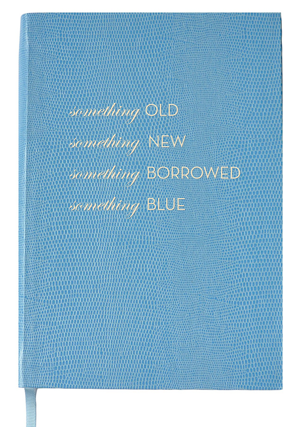 NOTEBOOK NO°104 - Something Old, New, Borrowed, Blue