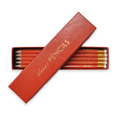 Clever Pencils - Orange Box of 10