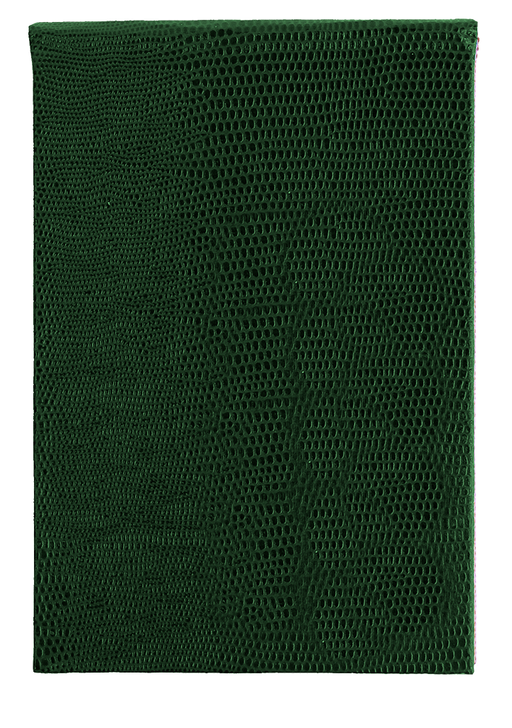 REFILLABLE NOTEPAD - GREEN