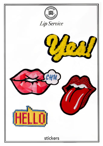 LIP SERVICE - STICKERS