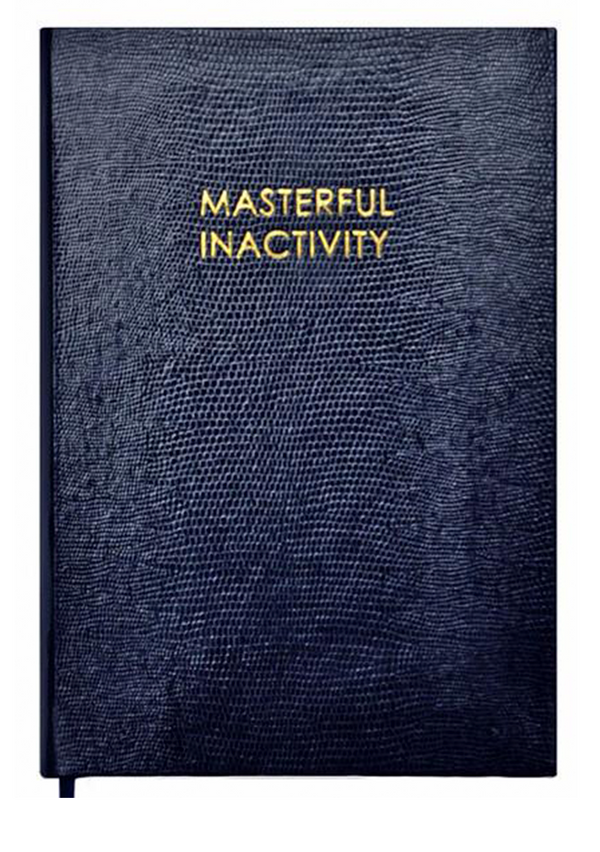 NOTEBOOK NO°54 - MASTERFUL INACTIVITY