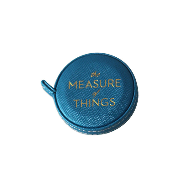 The Measure of Things - Measuring Tape in Blue