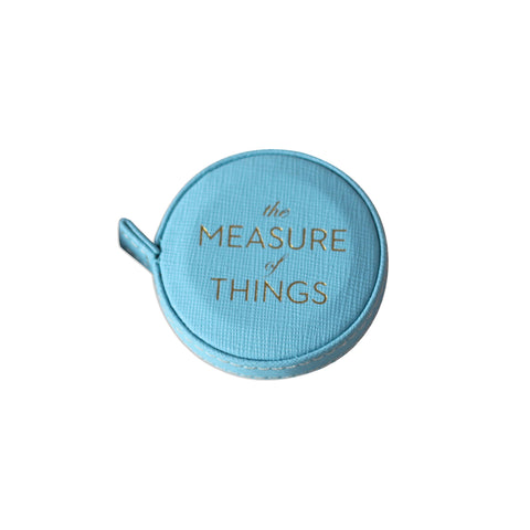 The Measure of Things - Measuring Tape in Light Blue