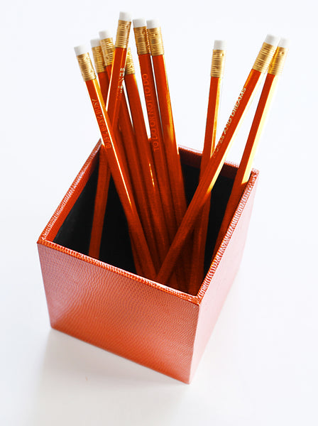 Pen Pot - Orange