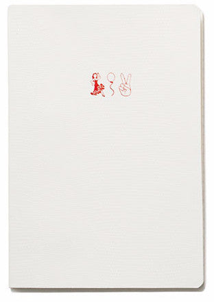 Soft Cover Emoji Range Notebook - Dancing Queen