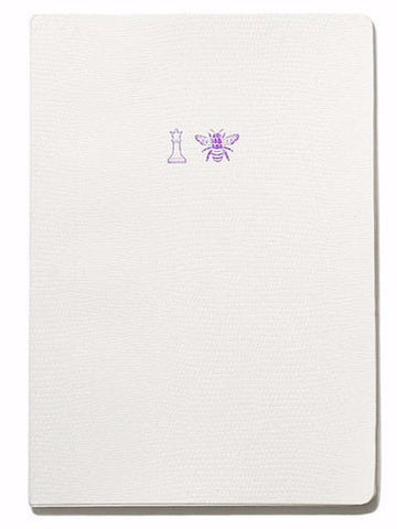 Soft Cover Emoji Range Notebook - Queen Bee