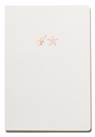 Soft Cover Emoji Range Notebook - Rock Star