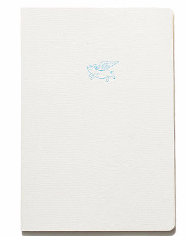 Soft Cover Emoji Range Notebook - When Pigs Fly