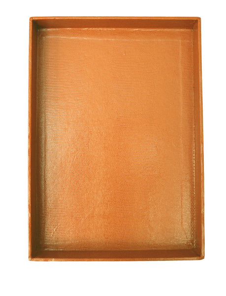 Desk Tray - Cognac Large