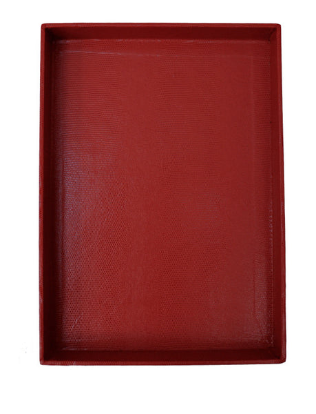 Desk Tray - Red Large