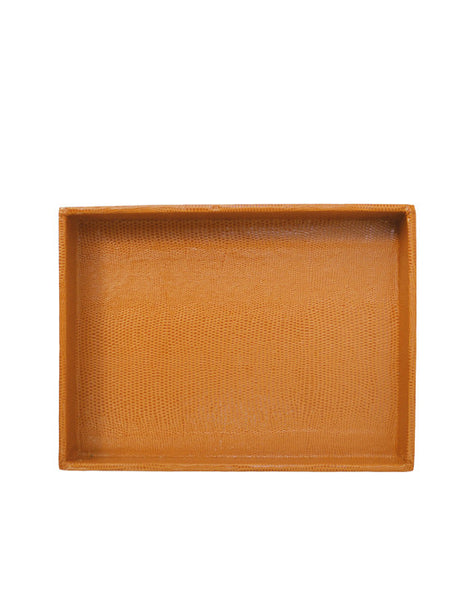 Desk Tray - Cognac Medium