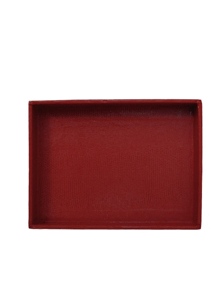 Desk Tray - Red Medium