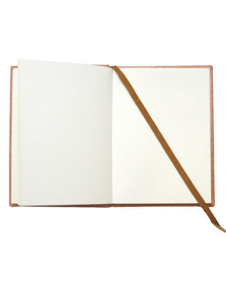 MEDIUM COGNAC NOTEBOOK