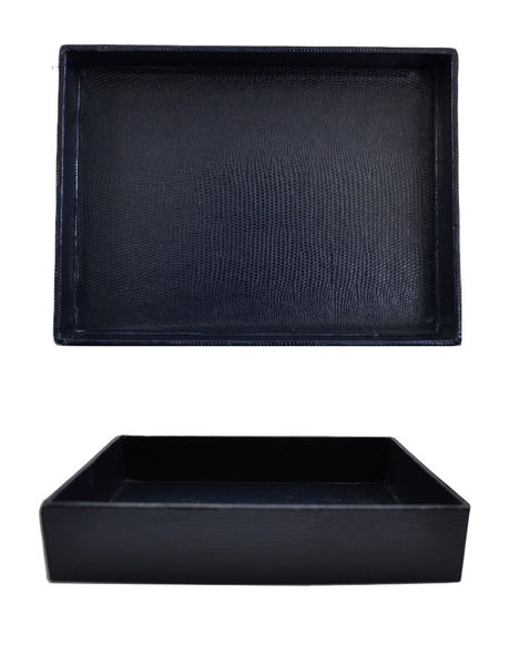 Desk Tray - Navy Large