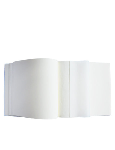 Large Heart Wedding Album White