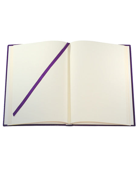 LARGE PLUM NOTEBOOK