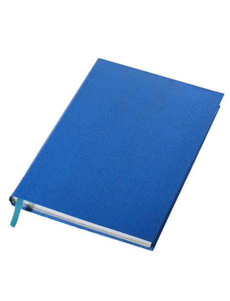 MEDIUM ROYAL BLUE NOTEBOOK