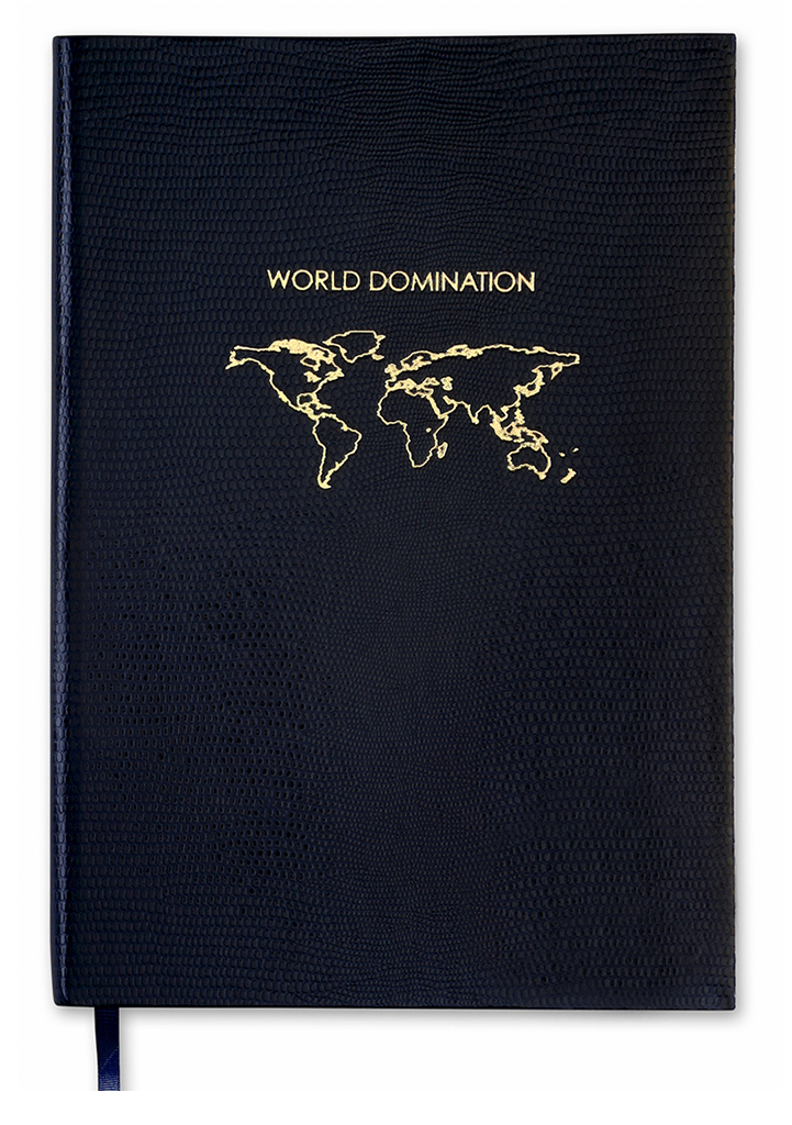 NOTEBOOK NO°11 - WORLD DOMINATION